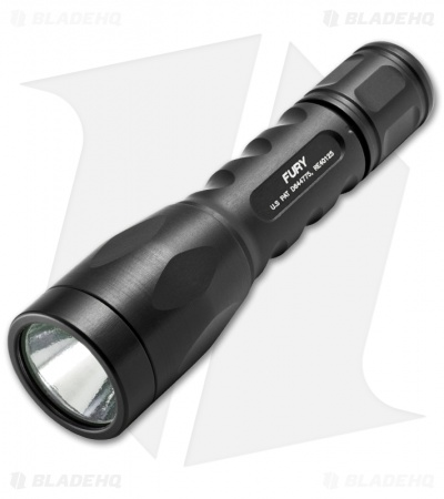 Surefire Fury Ultra-High Dual Output LED Flashlight (500 Lumens) P2X-B-BK