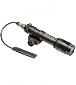 Surefire M600C Scout Light Black Compact LED Weaponlight (200 Lumens) M600C-BK