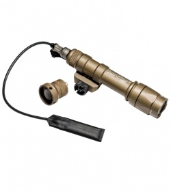 Surefire M600C Scout Light Tan Compact LED Weaponlight (200 Lumens) M600C-TN