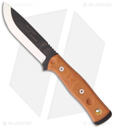 "TOPS BOB Brothers of Bushcraft Fieldcraft Knife (4.625"") BROS-01 BOB"