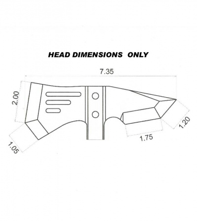 TOPS Knives IDT Individual Demolition Tool Axe IDT-01