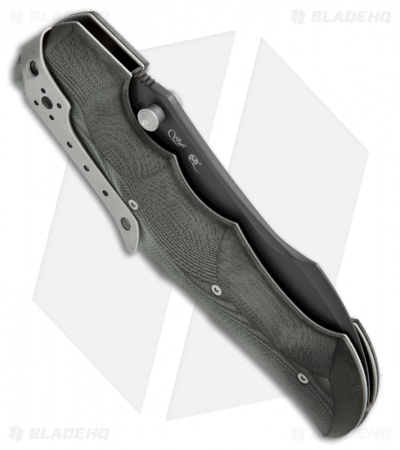 "Viper Knives Rhino Folding Knife Black Micarta (4.25"" Black Plain) V5904BK"