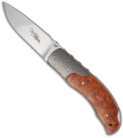 Viper Knives Quality Folding Knife w/ Amboina Burl  V5510RA