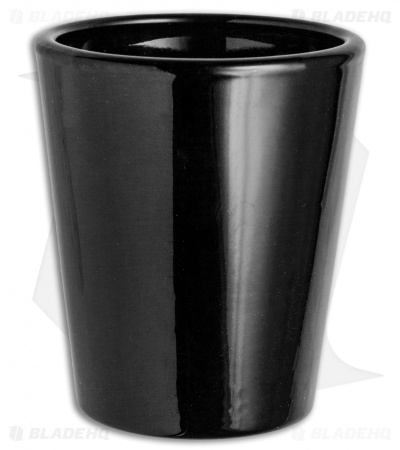 Zero Tolerance Black Glass Shot Glass (1.5 oz.)