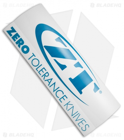 "Zero Tolerance Knives Large ZT Decal 12.0"" x 4.5"""