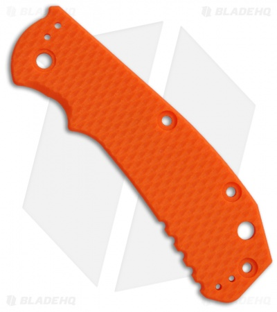 Zero Tolerance 0550/0551 Orange G10 Replacement Scale by Hinderer Knives