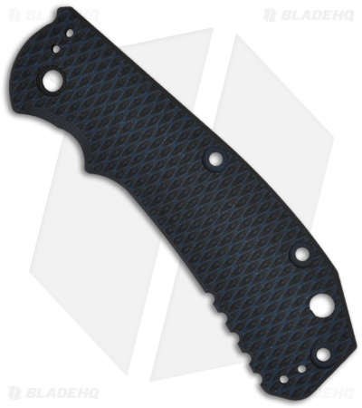 Zero Tolerance 0550/0551 Blue-Black G10 Replacement Scale by Hinderer Knives