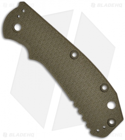 Zero Tolerance 0550/0551 OD Green G10 Replacement Scale by Hinderer Knives