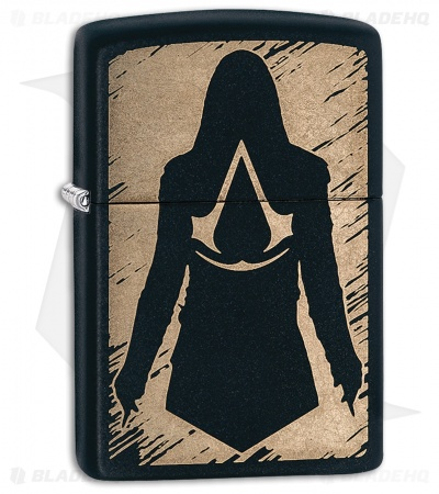 Zippo Lighter Assassin's Creed (Black Matte) 13103