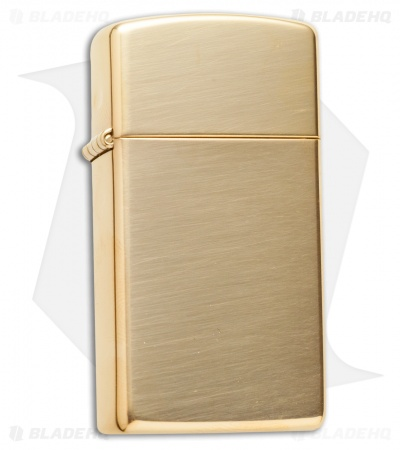 Zippo Classic Lighter Slim (High Polish Brass) 1654