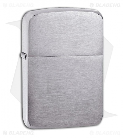 Zippo Brushed Chrome 1941 Vintage Replica Lighter