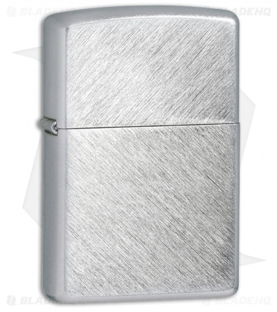 Zippo Lighter - Herringbone Sweep 24648 Satin Chrome
