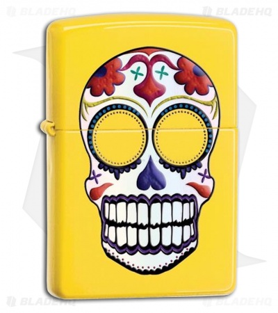 Zippo Lighter Day of the Dead 24894