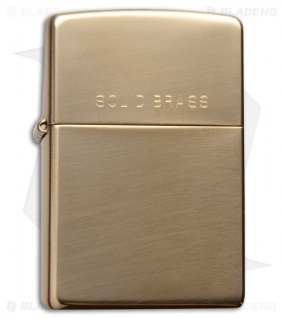 Zippo Classic Lighter High Polish Brass 254