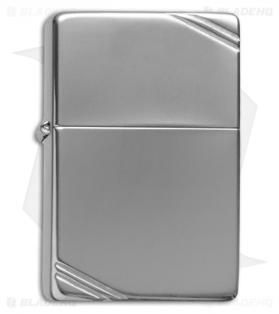 Zippo Classic Lighter Vintage Series 1937 Slashes (High Polish Chrome) 260
