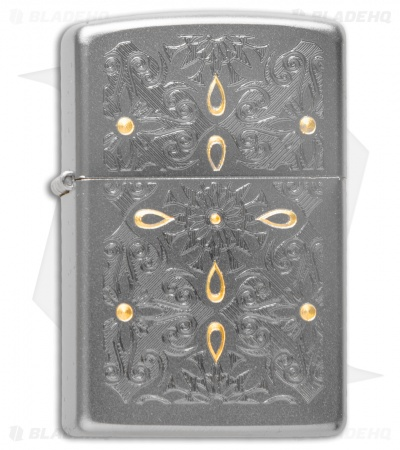 Zippo Classic Lighter Classical Curve (Satin Chrome) 28457