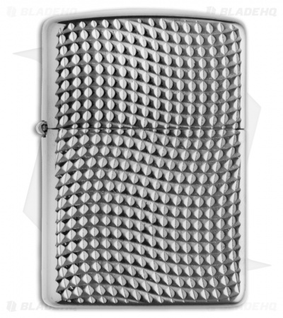 Zippo Lighter - Cross Wave Ridge 28544