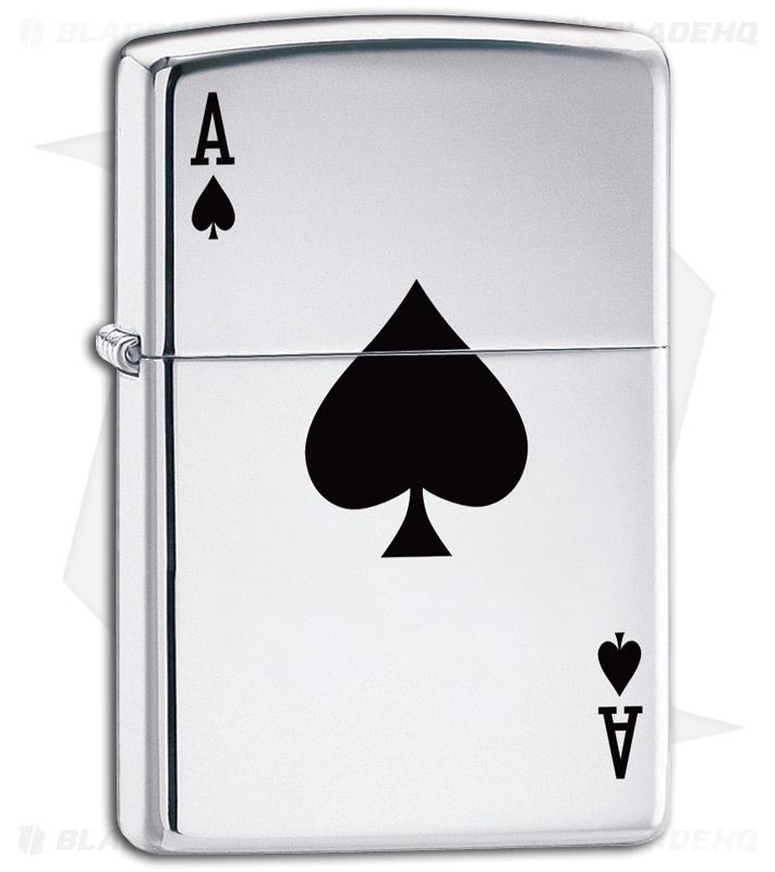 Lucky Ace Zippo Lighter 24011