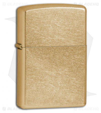 Zippo Gold Dust Finished Lighter 207G