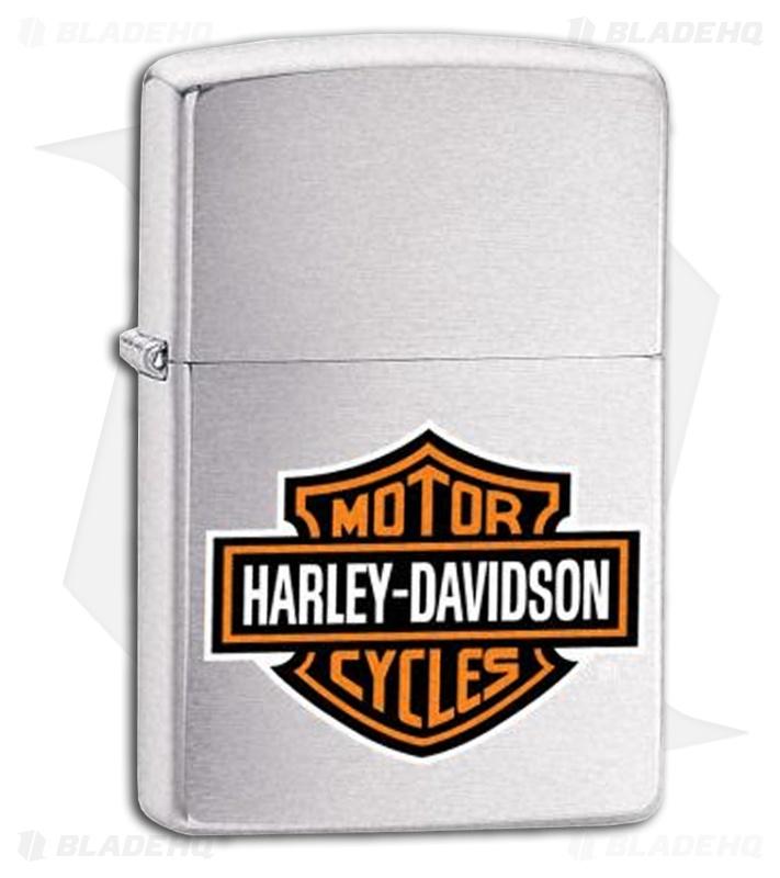 Harley Davidson Bar And Shield >> Zippo Harley Davidson Color Bar And Shield Lighter 200hd