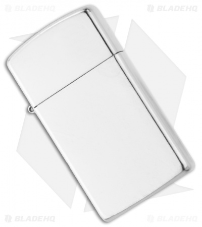 Zippo Lighter Slim Street Chrome 1607