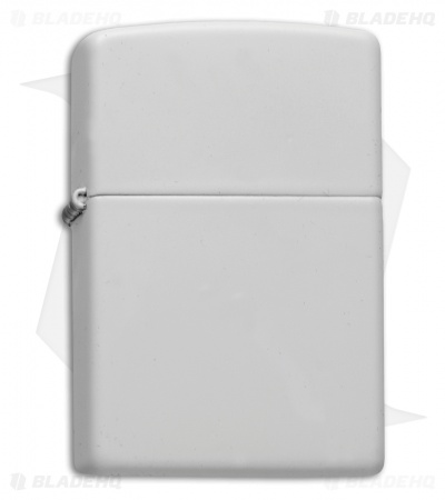 Zippo Classic Lighter Regular White Matte 214