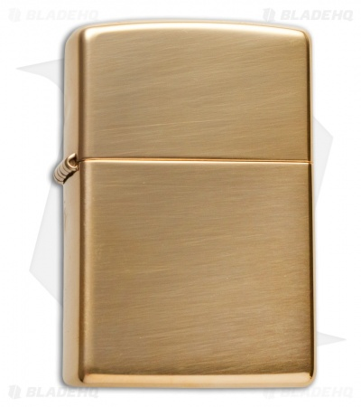 Zippo Classic Lighter High Polish Brass 254B