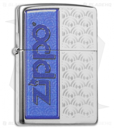 Zippo Classic Lighter Special Design (High Polish Chrome) 28658