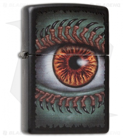 Zippo Classic Lighter Monster Eye (Black Matte) 28668