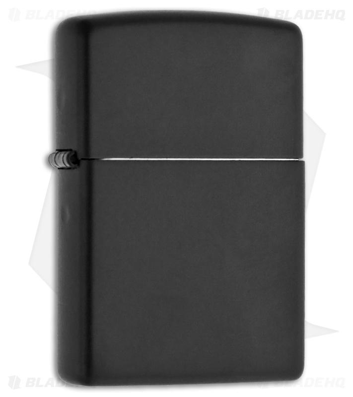 Zippo Lighter Regular Black Matte 218 Blade Hq