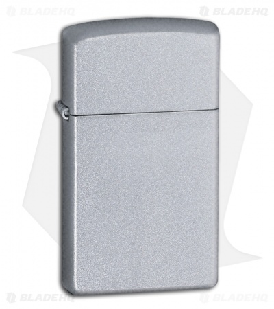 Zippo Lighter Slim Satin Chrome 1605