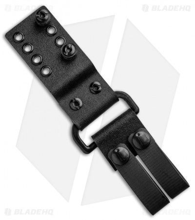 Armatus Carry ESEE 5 Architect Sheath Black Kydex w/ Dangler