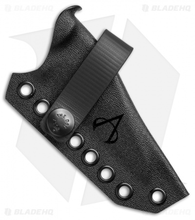 Armatus Carry Hinderance Architect Sheath Flat Black Kydex