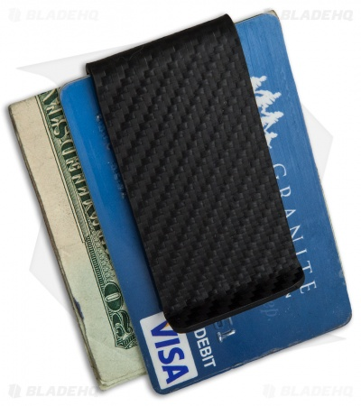 Armatus Carry Cash Clip - Black Carbon