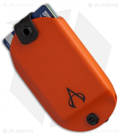Armatus Carry Vita EDC Wallet 2.0 - Hunter Orange Kydex