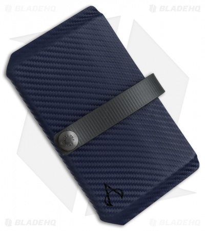 Armatus Carry Vita Travel Wallet - Blue Carbon Kydex
