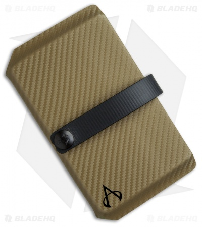 Armatus Carry Vita Travel Wallet - Battle Drab Carbon Kydex