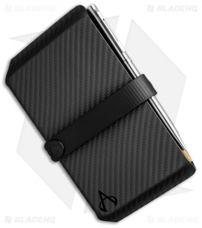 Armatus Carry Vita Travel Wallet - Black Carbon Kydex