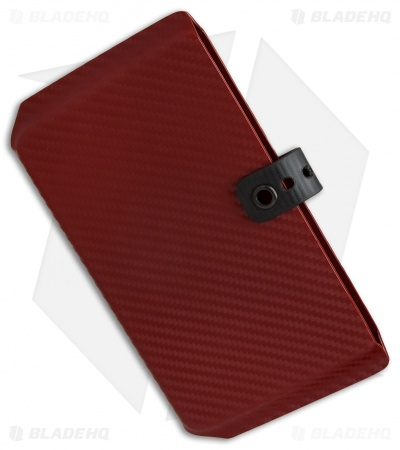 Armatus Carry Vita Travel Wallet - Red Carbon Kydex