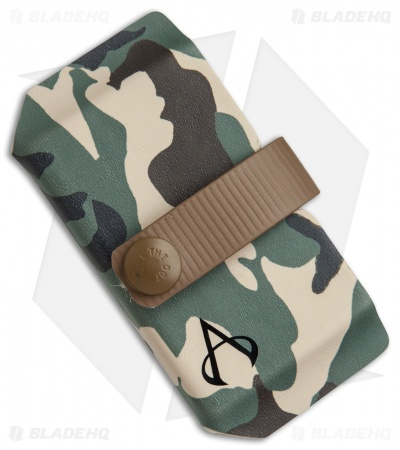 Armatus Carry Vita XL Wallet - Woodland Camo Kydex