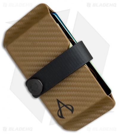 Armatus Carry Vita XL Wallet - Coyote Carbon Kydex