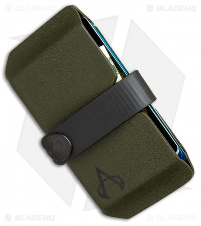 Armatus Carry Vita XL Wallet - OD Green Kydex