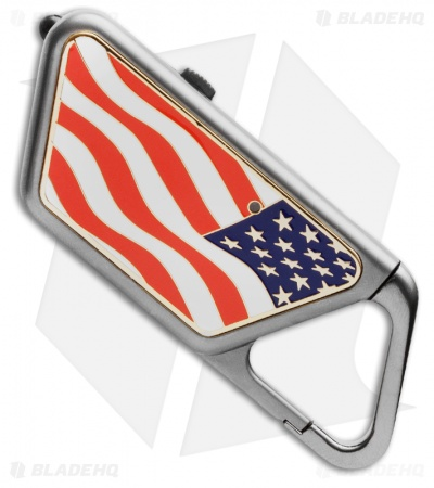 ASP Sapphire USB Rechargeable Light US Flag (20 Lumens) 53664