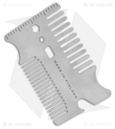 Audacious Concept Combotac EDC Comb Pocket Tool (Stainless Steel)