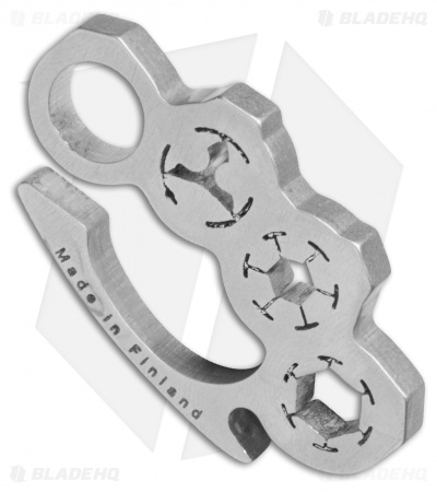 Audacious Concept Knucklip Key Chain Knuckle Clip V2 - Stainless Steel