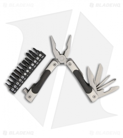 Baladeo Processus 21 Multi-Tool Stainless Steel w/ Stamina Wood (21-in-1)