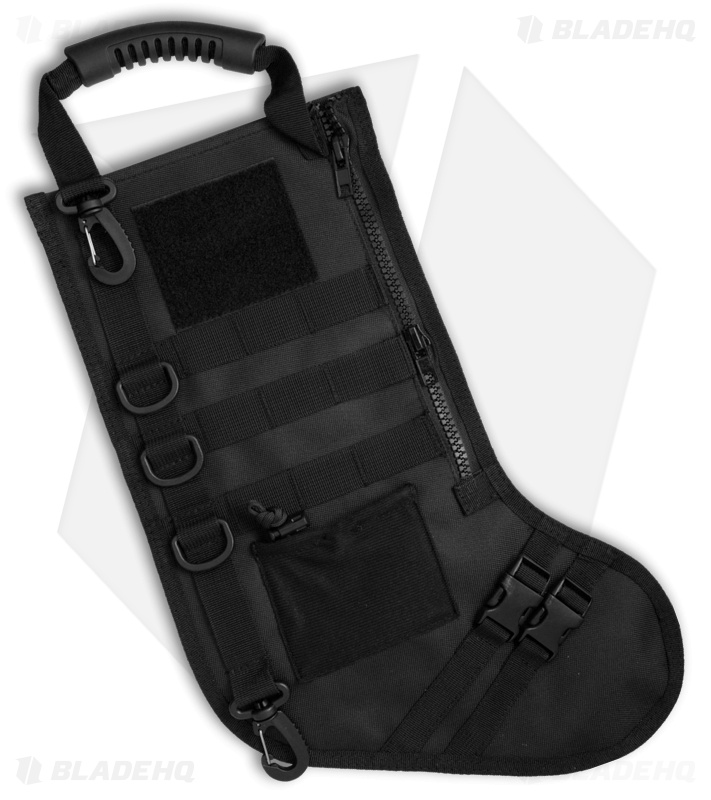 Tactical Christmas Stocking.Bastion Tactical Christmas Stocking Heavy Duty Black