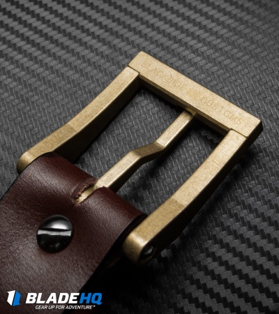 "Blackside Customs Ordnance Grade Naval Brass Modular Buckle (1.5"")"