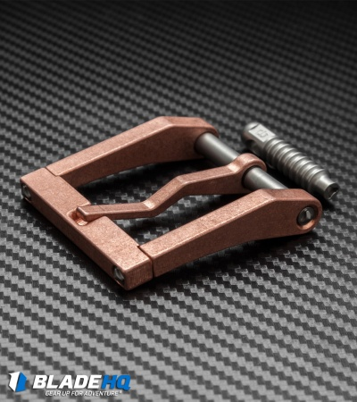 "Blackside Customs Trillium Copper Modular Belt Buckle (1.5"")"