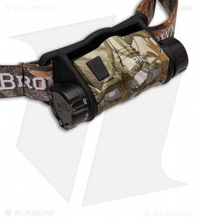 Browning Epic 1AA-USB Rechargeable Headlamp Green Camo (260 lumens) 3718635